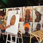 A artista plástica, brasiliense radica em Natal, Dora de Souza, é um dos destaques da Fiart-2014.