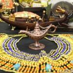 A arte egípcia é um dos destaques do artesanato internacional da Fiart-2014.