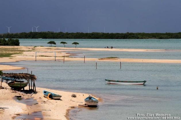 Galinhos - Beleza do litoral do RN.