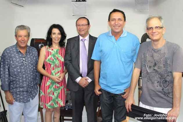 Fernando Pereira, Sonia Figueiredo, Raniere Barbosa, Elias Medeiros e Marcelo Buainain.