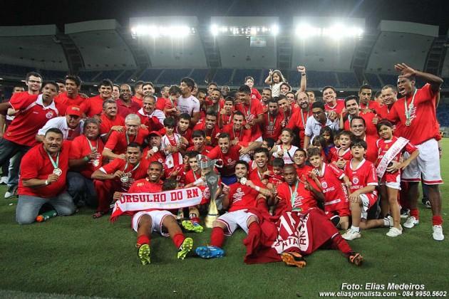 Com empate por 0 x 0 com o Globo FC, América se trona o primeiro campeão da era Arena das Dunas, em Natal.