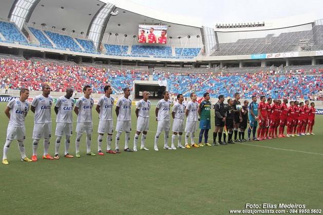 ABC 2X0 América, jogo válido como evento-teste da Arena das Dunas, para Copa.