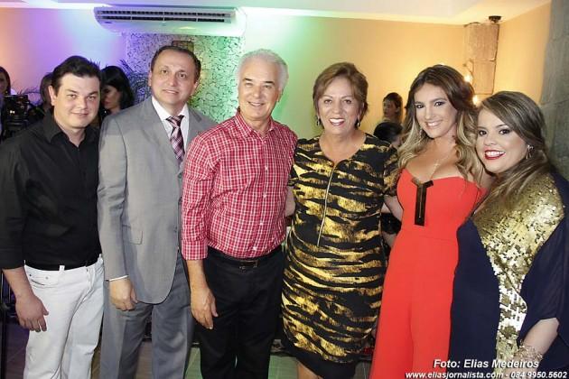 A governadora Rosalba Ciarlini, prestigia festa de lançamento da programação 2014 da Rede TV RN.