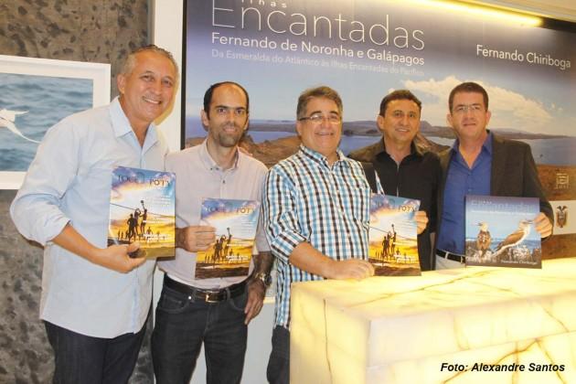 Diretoria da Associação Potiguar de Fotografia (Aphoto) com Fernando Chiriboga.
