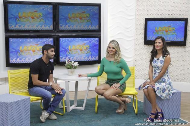 O produtor Eukes Queiroz falou sobre os look utilizados no verão.