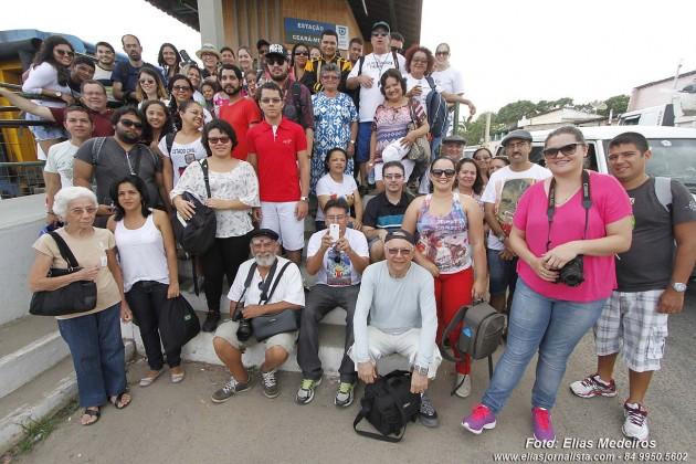 Expedição fotográfica ao centro histórico de Ceará-Mirim RN festeja Dia Nacional da Fotografia..