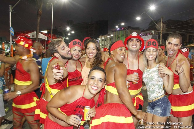 Carnaval de Salvador 2015: Bloco Xiquititas.