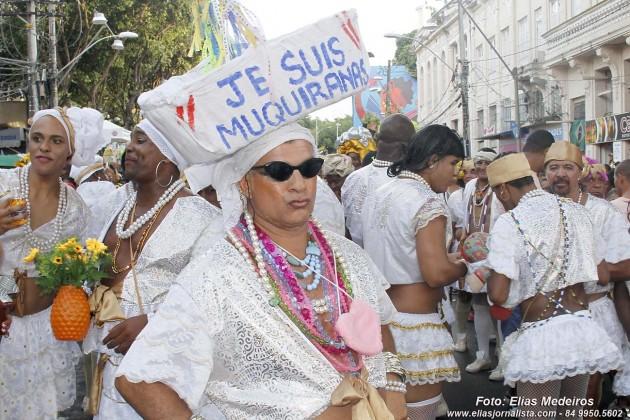 """O bloco """"As Muquiranas"""" 50 anos de história e irreverência no Carnaval de Salavador."""
