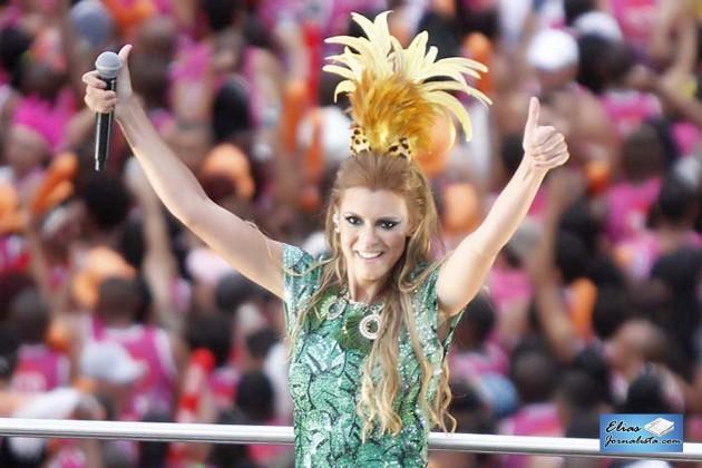 Carnaval de Salvador 2015: Vina Calmon nova vocalista da Banda Cheiro de Amor veio pra ficar.