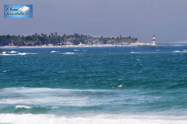Praia de Itapuã famosa pela bela música de