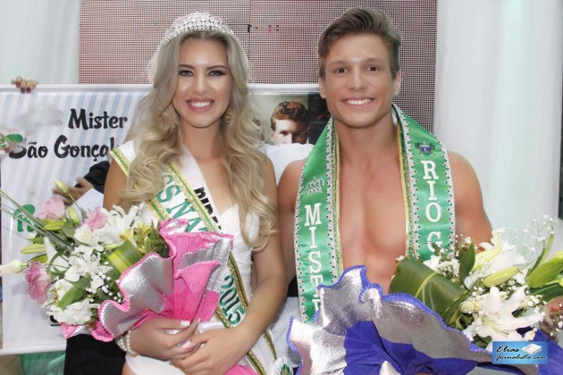 Manoela Alves  representante do Bairro de Pirangi e Rodrigo Galvão da cidade de São Gonçalo do Amarante, foram eleitos Miss Natal e Mister RN 2015, respectivamente