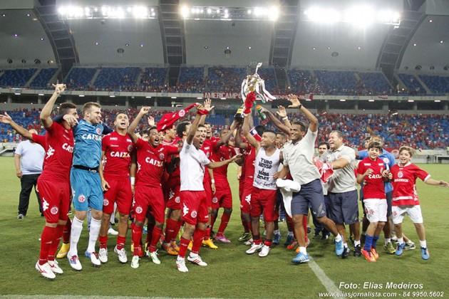 América é campeão da Taça Cidade de Natal com vitória por 2 a 0 contra o Alecrim.