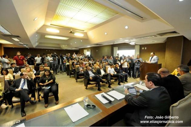 A crise no sistema carcerário do Rio Grande do Norte foi tema de audiência pública na tarde desta segunda-feira (27), na Assembleia Legislativa.