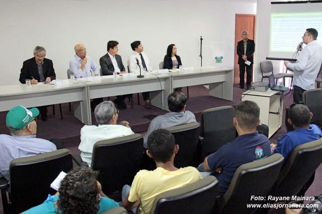 O Governador Robinson Faria recebeu no auditório da Governadoria a pauta de reivindicações do Grito da Terra 2015.