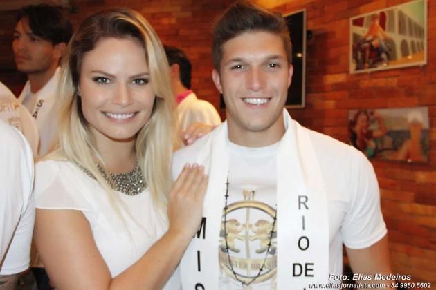 Candidatos a Mister Brasil Universo 2015 participam de coquetel com a imprensa