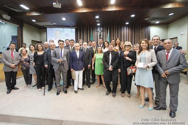 Jornalistas comemoram seu dia e são homenageados pela  Assembleia Legislativa .