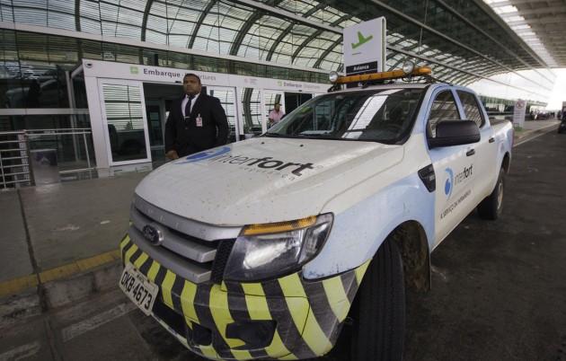 Interfort renova contrato com Aeroporto de São Gonçalo. (Foto: Ana Paula Silva).