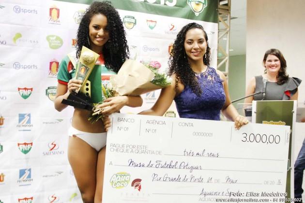 Larissa Moura  levou para casa o prêmio de R$ 3.000,00.