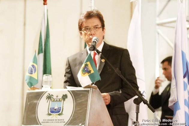 """Robinson Faria (PSD) toma possa e diz que fará gestão """"Humanitária"""""""