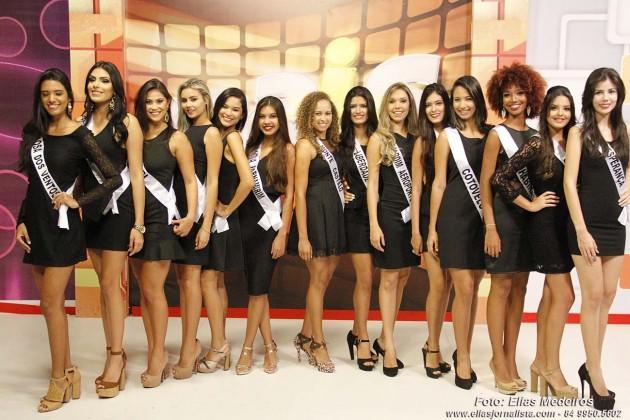 15 candidatas disputam o título de Miss Parnamirim neste sábado no Praia Bonita.
