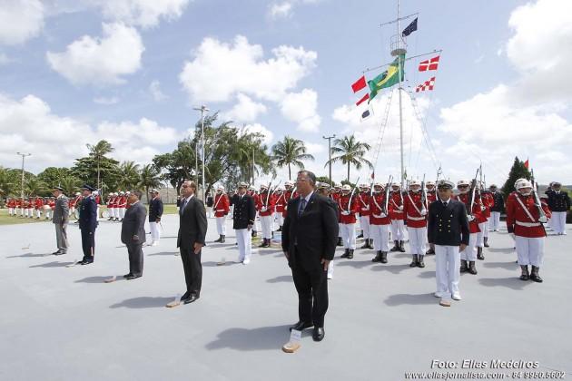Data Magna da Marinha foi  celebrada , na Base Naval de Natal.