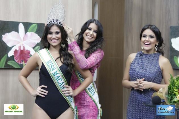 Ana Clara Cortez, estudante de 19 anos, foi eleita Miss Macaíba,