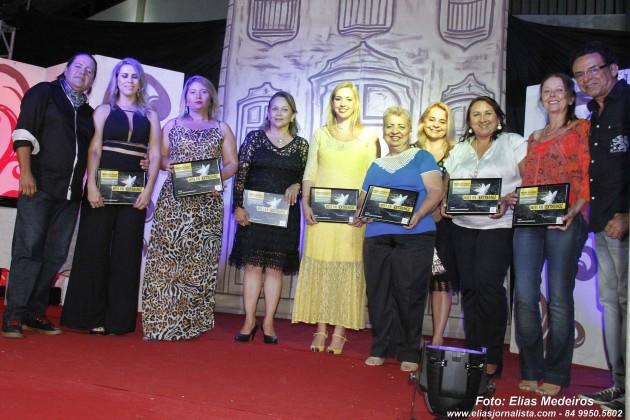 Mulheres empreendedoras de Extremoz foram homenageadas.
