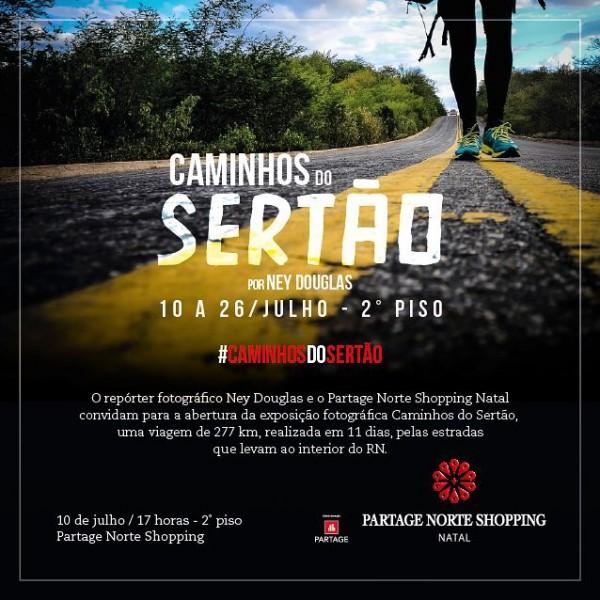 Exposição Caminhos do Sertão – Repórter fotográfico Ney Douglas
