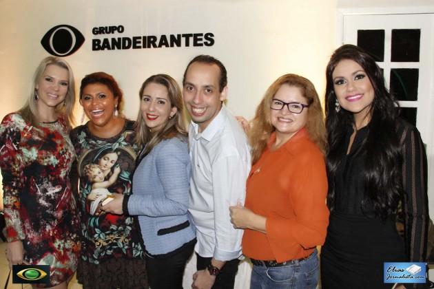 Coquetel de lançamento da nova atração da Band Natal: Programa Conceitos dos jornalistas Rodrigo Loureiro e Simone Silva.