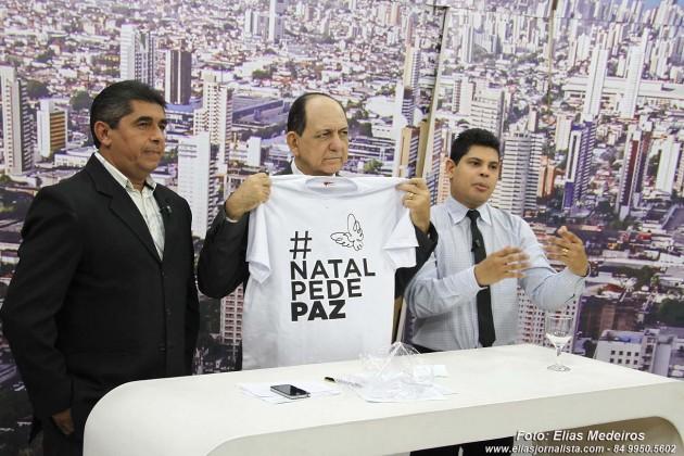 Programa RN Agora Rede TV apoia campanha `Natal Pede Paz´