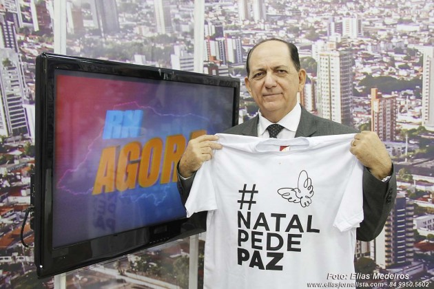 """A atração ancorada pelo paraibano, Gilvan Barbosa, o novo formato do programa """"RN Agora"""" exibido pela Rede TV RN afiliada da Rede TV"""