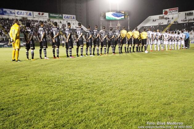 O jogo do centenário Corinthians 1 X 0 ABC.