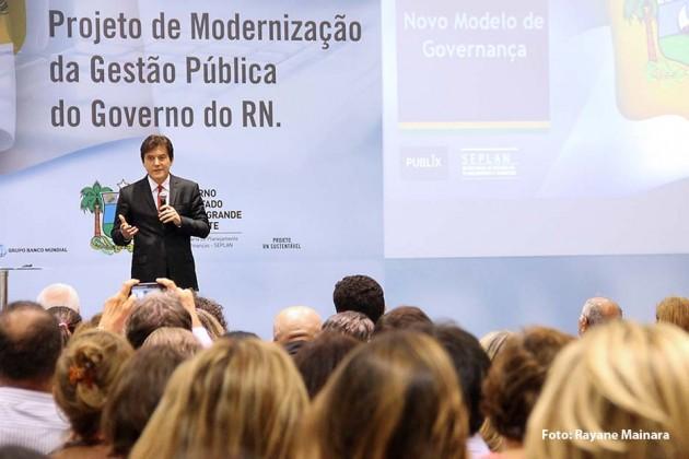 Governador lança Projeto de Modernização que visa reforma administrativa no Estado.