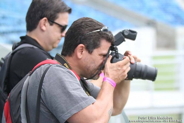 Ney Douglas Marques - repórter fotográfico NOVO JORNAL vencedor de vários prêmios de fotografia.