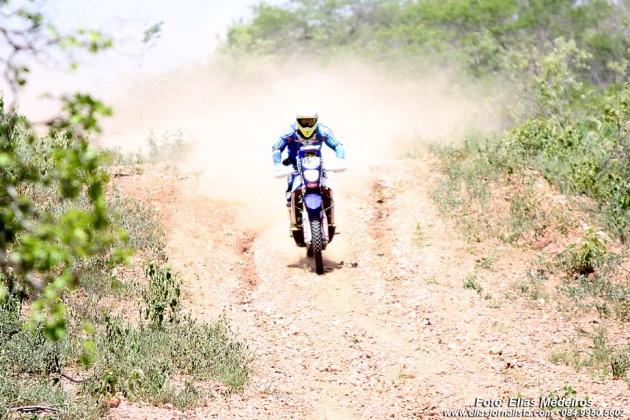 Rally RN 1500, levanta poeira em Currais Novos.
