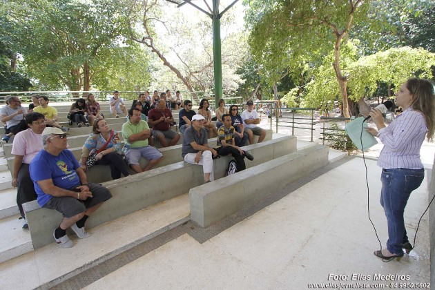 """palestra """"Fotografia e Direito Autoral"""", com a fotógrafa e advogada Rafaela Marinho, no Parque das Dunas"""