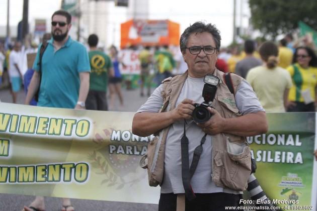 Walmir Queiroz professor de fotografia.