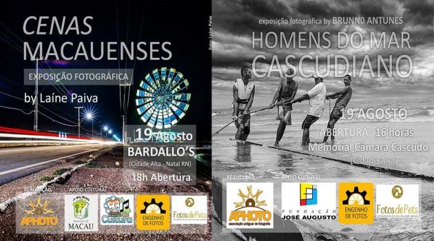 """Dia Mundial da Fotografia - Aphoto preprarou duas exposições imperdíveis:  """"Homens do Mar Cascudiano"""" e  """"Cenas Macauenses"""""""