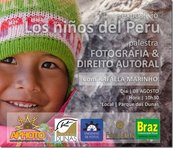 Exposição Fotográfica e Palestra sobre Direito Autoral na Fotografia.