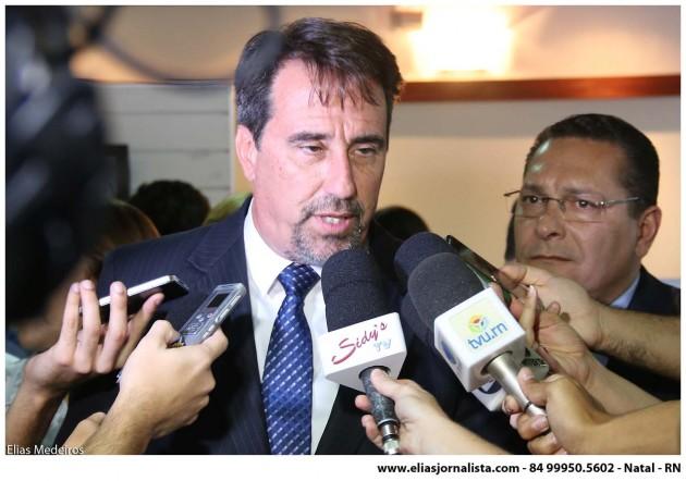 RN pela Transposição: Ministro  fala da importância do debate com a sociedade.
