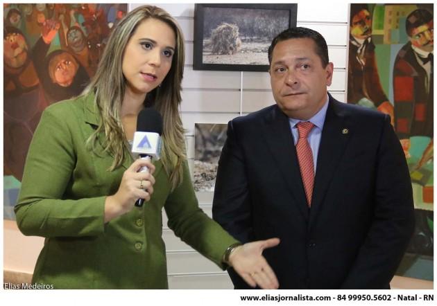"""A comunicação da Assembleia Legislativa do Rio Grande do Norte promoveu a cobertura em tempo real do debate """"RN Pela Transposição""""."""