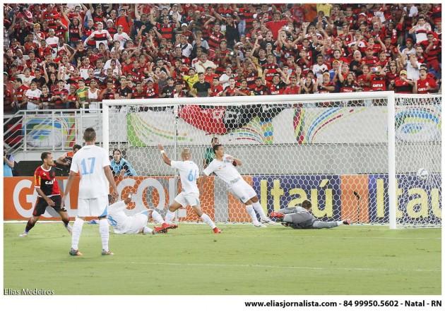 Kayke marca duas vezes e Flamengo derrota o Avaí por 3 a 0,.