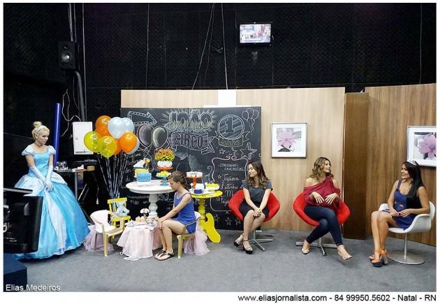 A jornalista Juliana Celli apresentou o Band Mulher especial Dia das Crianças.