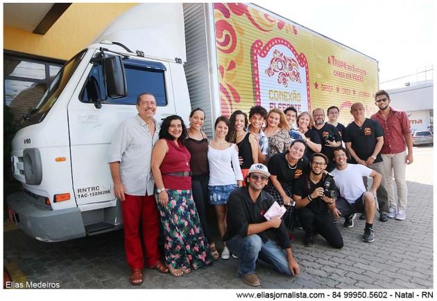 Conexão Elefante Cultural – etapa estadual tem início no próximo mês Caminhão itinerante leva cultura e educação ao interior do Estado.