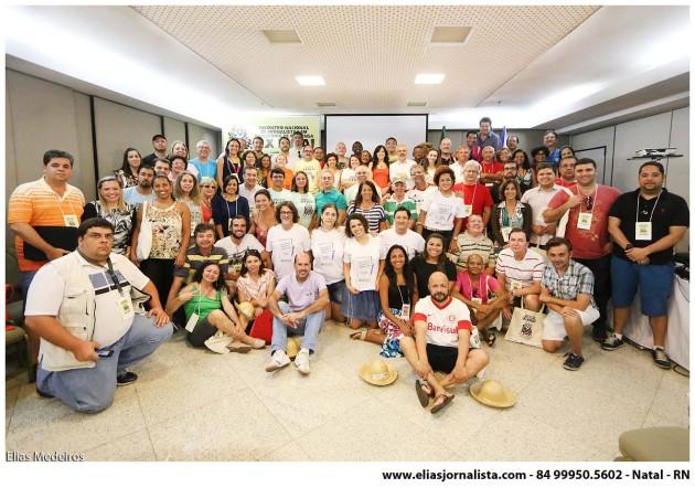 participantes do ENJAI - 2015 - Fortaleza - CE.