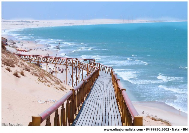 Praia de Canoa Quebrada  - CE.