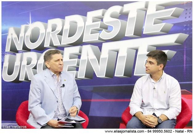 Luiz Almir entrevistou o secretário de Serviços Urbanos de Parnamirim.
