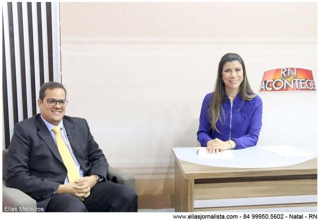 O RN Acontece com a jornalista Anna Ruth Dantas, entrevistou o vereador Júlio Protásio (PSB).