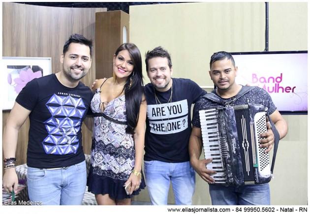 A Banda DiBôa de Recife foi a atração do Band Mulher desta sexta (23).