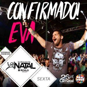 Banda Eva é mais uma atração confirmada do Camarote Carnatal by RCHLO.